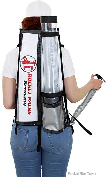 rocket tower bier rucksack